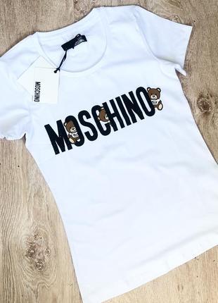 Новая женская футболка с модным логотипом