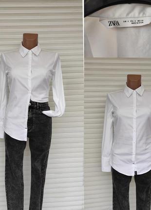 Актуальна біла рубашка - zara