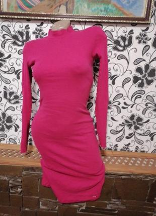 Женское платье миди чулок