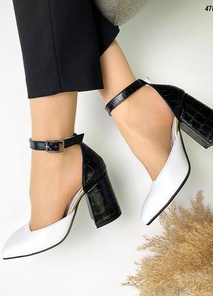 Код 4786 туфли grace на обтяжном каблучке