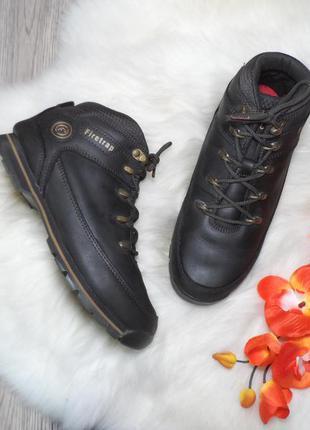 Кожаные непромокаемые ботинки firetrap! 37,5 р.