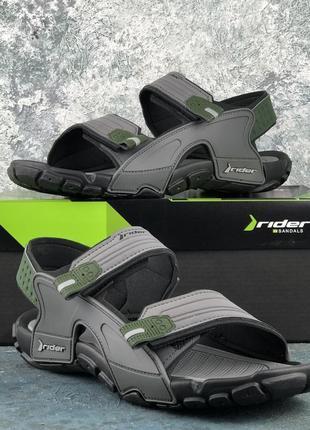 Сандалі чоловічі спортивні rider tender x ad black/grey