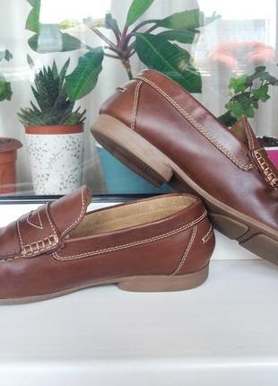 """Красивые редкие стильные кожаные мокасины """"bata ®"""". канада. 42 р."""