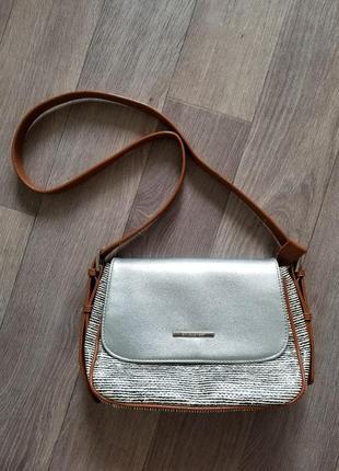 Оригинальная сумка через плечо с длинной ручкой