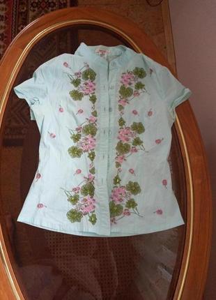 Блуза сорочка вишита