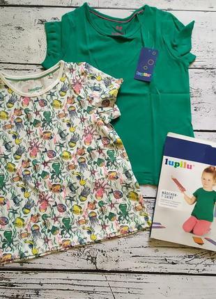 Набор комплект футболок для девочки лупилу
