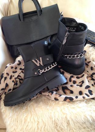Стильные, теплые ботинки на зиму