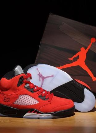 Баскетбольные кроссовки air jordan 5 retro