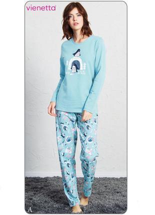 Байковая пижама vienetta secret