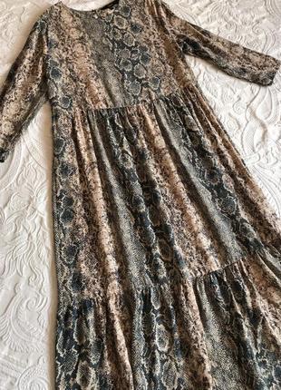Стильное платье, натуральная ткань