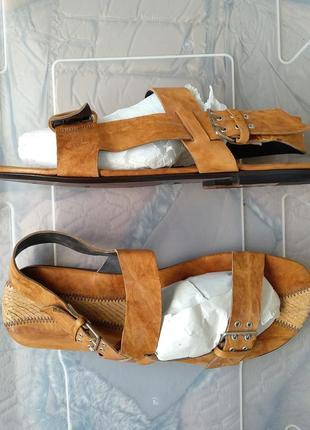 Босоножки сандалии мужские.италия.новые.кожа