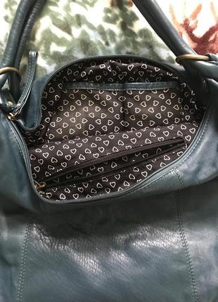 Кожаная сумка шопер3 фото
