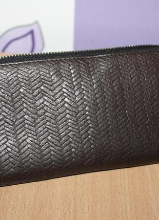 Кожаный кошелек sienna de luca италия