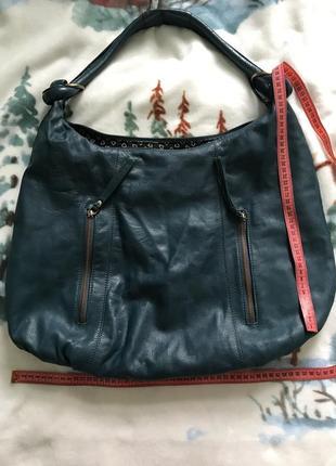 Кожаная сумка шопер4 фото