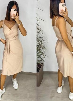 Платье женское на запах   💕