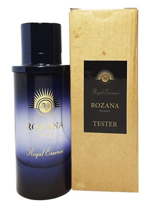 Noran perfumes rozana 75ml тестер оригинал