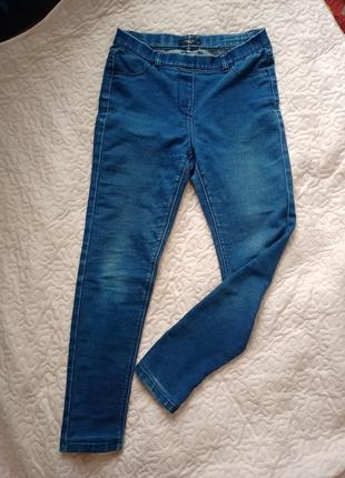 Классные летние джинсы на резинке1 фото