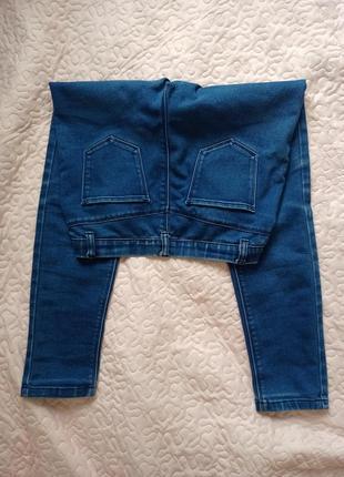 Классные летние джинсы на резинке2 фото