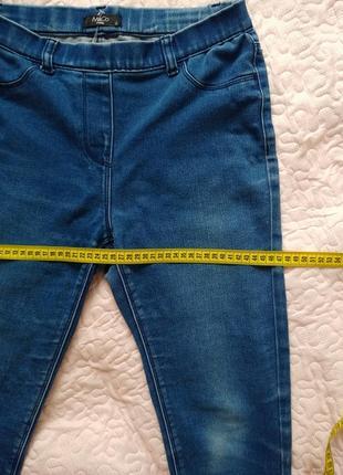 Классные летние джинсы на резинке7 фото