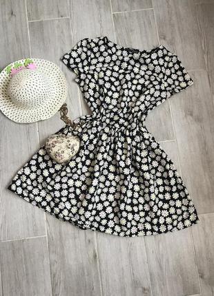 Платье с ромашками.
