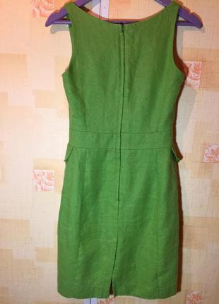 Зеленое платье next