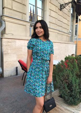 Платье штапель 42-52 р-р