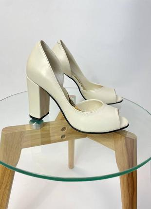 Эксклюзивные туфли из натуральной итальянской кожи и замша свадебные