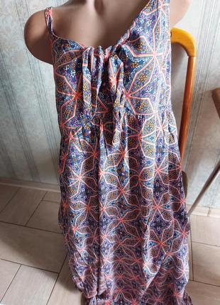 Сарафан длинные, натуральный сарафан платье батал сарафан большого размера