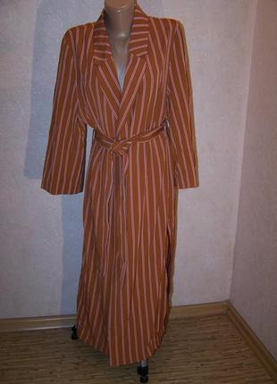 Шикарная вещь!летний кардиган/пальто-халат для стильного образа