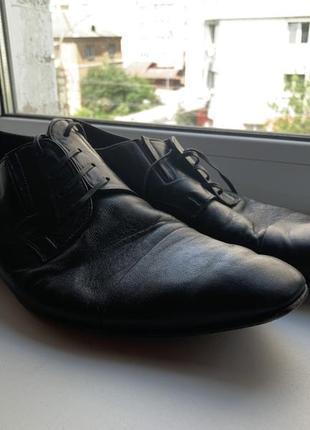 Кожаные туфли mario bruni