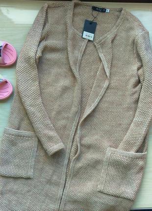 Шикарный кардиган кофточка на женщину 48 50 размер