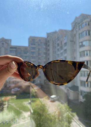 Очки солнцезащитные женские, солнечные очки, очки леопардовые2 фото