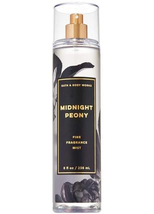 Мист bath and body works midnight peony