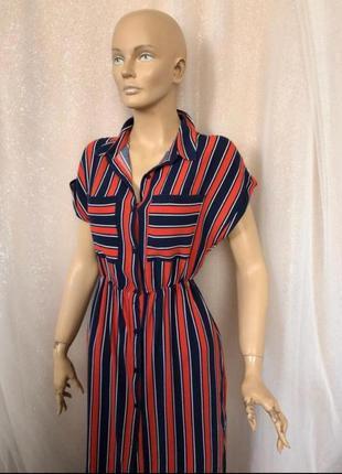 Платье рубашка bershka