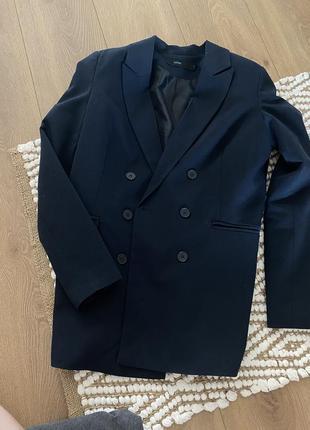 Двубортный оверсайз пиджак, oversize blazer