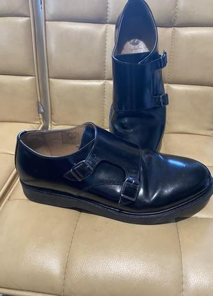 Туфли кожаные by hudson англия