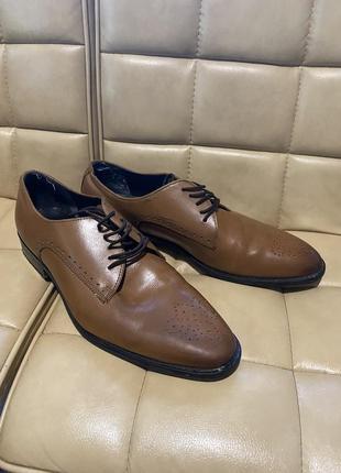 River island кожаные туфли мужские кожа