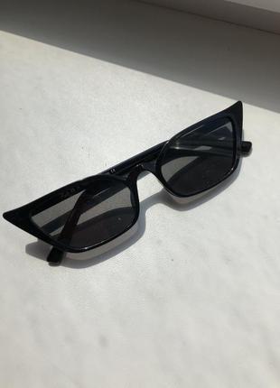 Черные очки zara