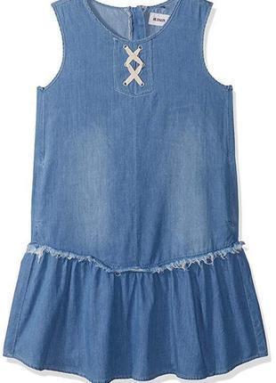 Актуальное платье hudson на девочку 12-14 лет хлопок