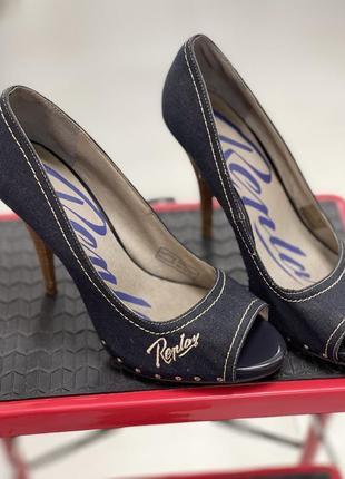 Джинсовые туфли replay