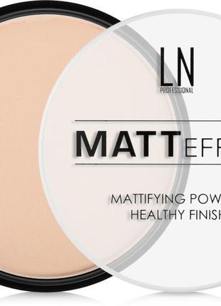 🔥 ln professional matt effect пудра для лица