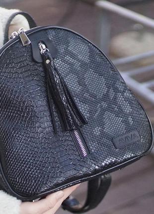 Шикарный кожанный рюкзак-трансформер для дополнения твоего образа✨