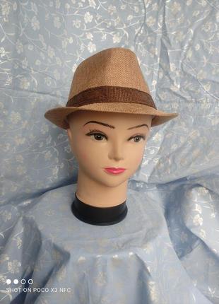 Капелюх з вузькими полями  шляпа женская