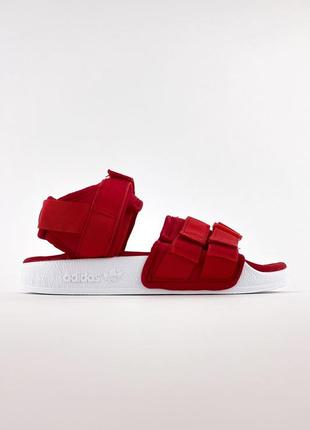 Сандалии adidas adilette red/white.