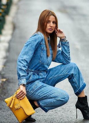 Нереальный джинсовый комбинезон от h&m / лето / тренд / мода