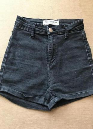 Шорты тонкий джинс