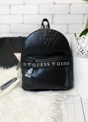 Рюкзак guess original с брендированным лампасом (портфель гэсс оригинал)