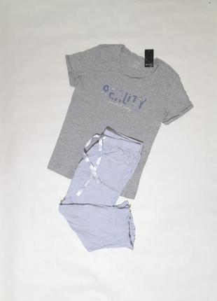 Комплект для дома и сна, футболка и капри, бриджи, esmara, германия