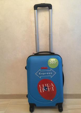 Чемодан gravitt польша валіза на колесах дорожная сумка! самовывоз