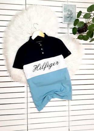 Поло футболка tommy hilfiger p. l